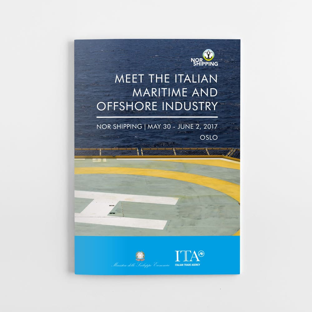 Italian Trade Agency folder front