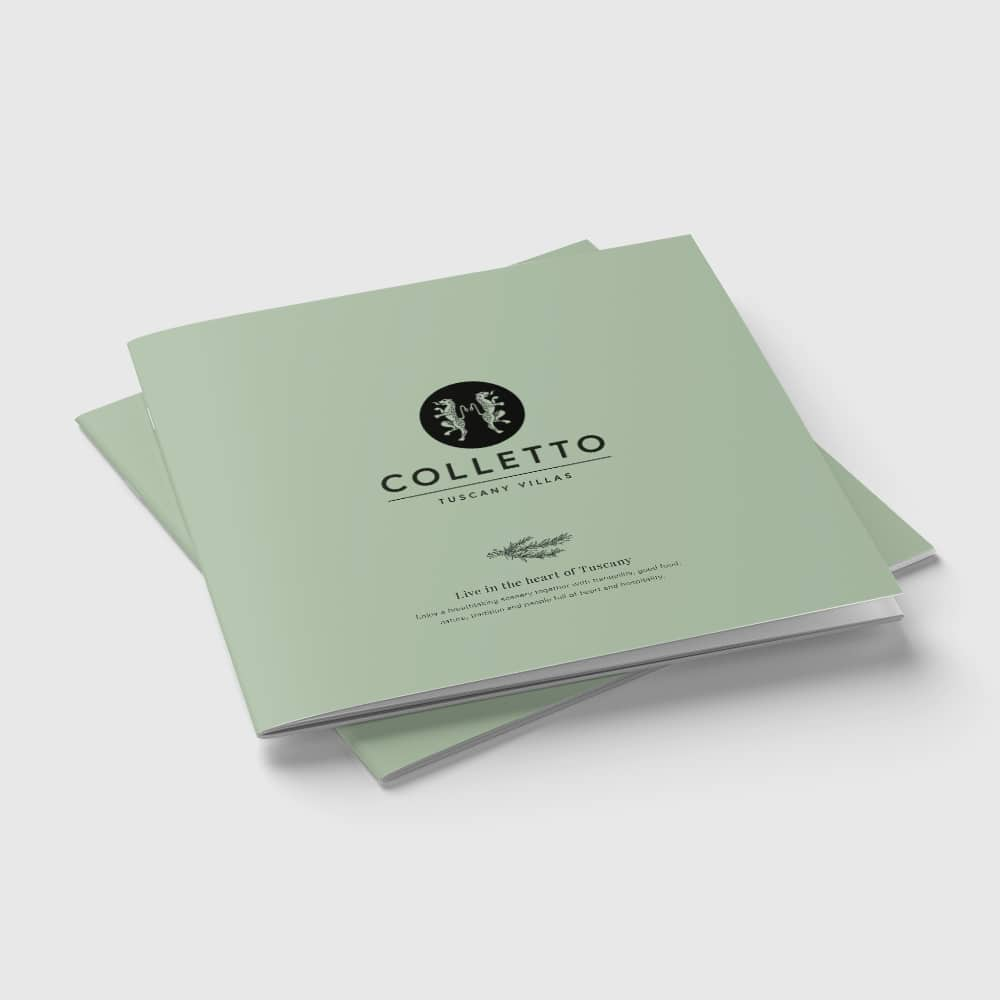 Colletto broschyr framsida