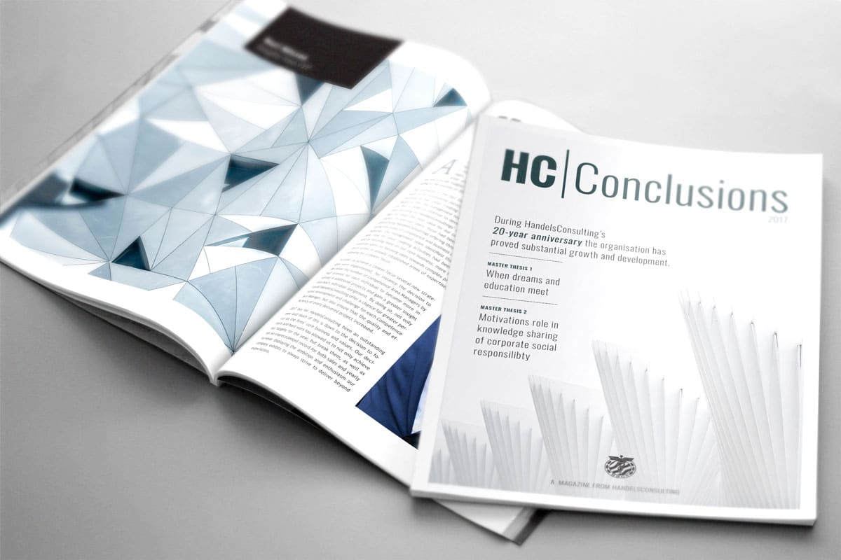 "Handels Consulting tidning ""HC Conclusions"""