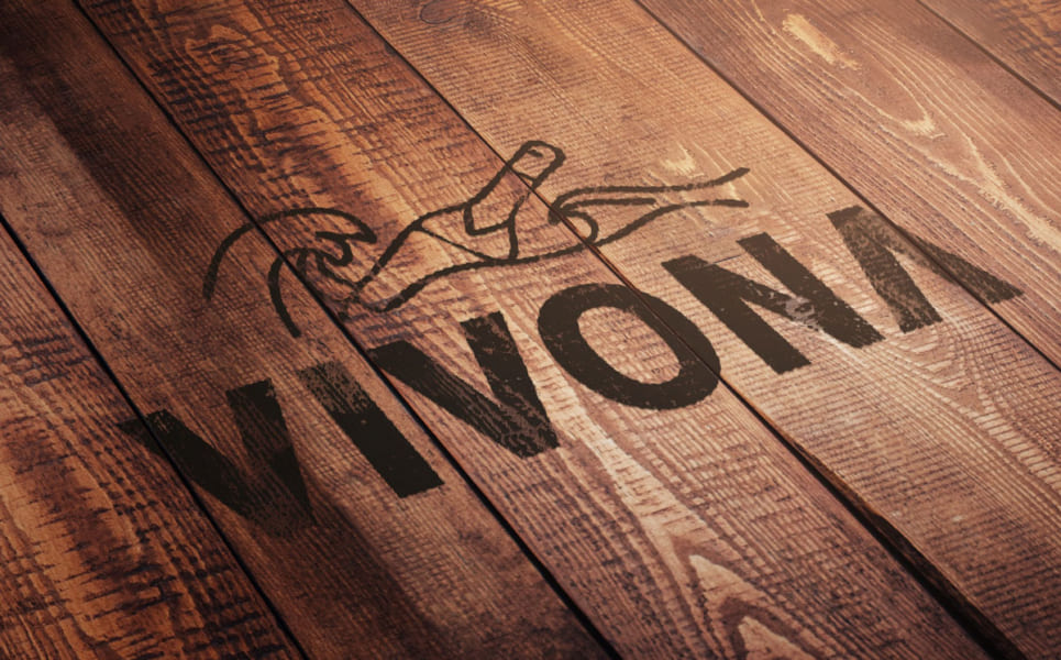 Vivona logotype sprit vin whiskey deisgn flaska göteborg