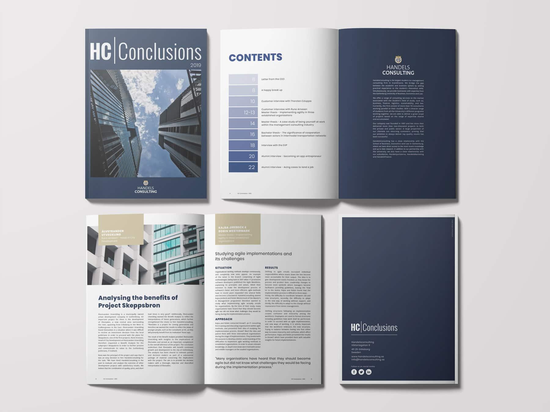HC conclusion Live reklambyra